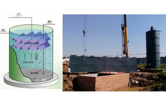 含高浓度有机物UASB处理装置