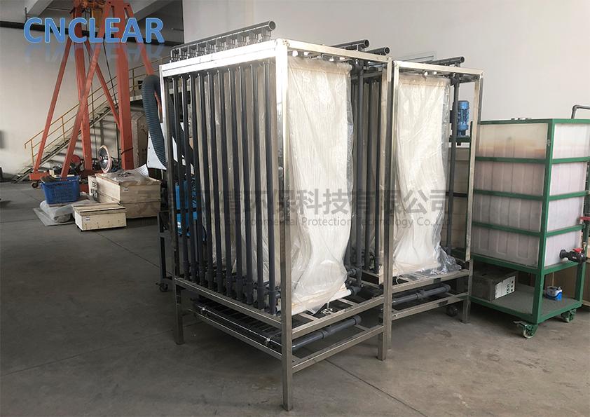 净化原水增强MBR膜帘式膜原理