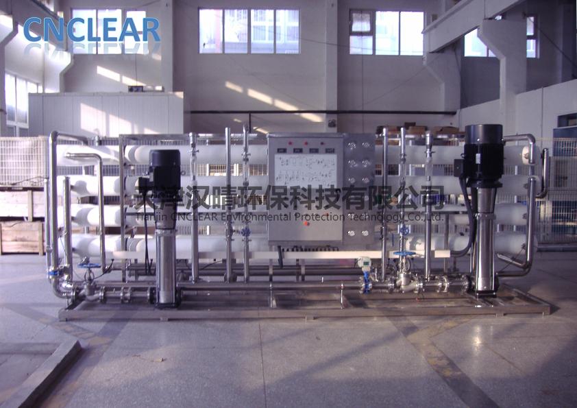 海水淡化设备:双级反渗透设备