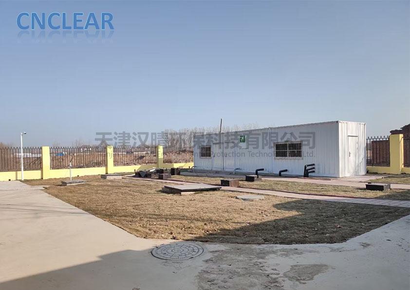 项目现场丨六套农村生活污水一体化处理装置进入调试验收阶段